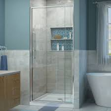 dreamline 32x60 inch frosted glass bathtub replacement shower kit
