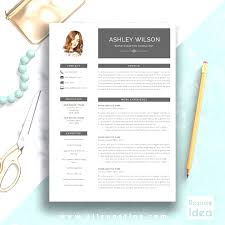 Modern Resume Template Word Enchanting Top Modern Resume Template Word Creative Resume Template Modern Cv