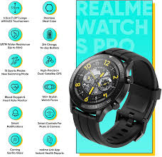 realme Watch S Pro Smartwatch, 3,5 cm ...