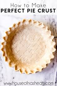 how to make a perfect pie crust house
