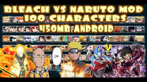 Bleach VS Naruto 3.3 Modded 100 Characters New UPDATE 2020 {450MB DOWNLOAD}  - YouTube