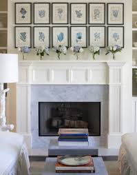 ... Fantastic Picture Of Fireplace Design With Various Shelves Over  Fireplace : Classy Picture Of Living Room ...
