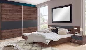 Schlafzimmer Set Komplett 4 Teilig Angie Schlammeiche Graphit Neu
