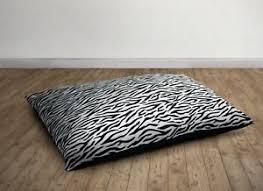 Image Floor Pouf Image Is Loading Zebrastripefauxfurfloorcushionseatinglounge Ebay Zebra Stripe Faux Fur Floor Cushion Seating Lounge Comfort Fill