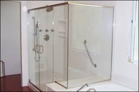 shower enclosures to replace a bath. Interesting Bath Custom Frameless Heavy Glass Shower Enclosures Design U0026 Installation Basco  Cardinal And Doors  Door Panel Replacement For To Replace A Bath R