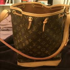 louis vuitton used bags. 💯authentic louis vuitton monogram noe bucket bag used bags
