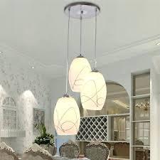round glass pendant light restaurant lamp three round glass pendant light modern minimalist dining creative led square style lamp glass pendant lamp shades