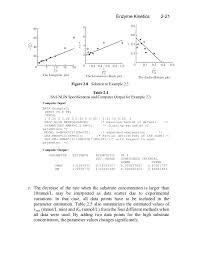 enzyme kinetics 23