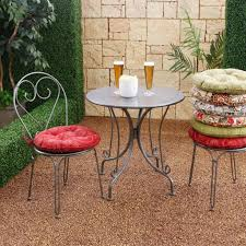 enjoyable round bistro chair cushions for your styles of chairs with additional 99 round bistro chair