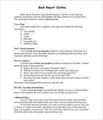 report outline template sample example format report outline template 10 sample example format