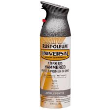 metallic paint home depot. all surface forged hammered antique pewter spray paint and metallic home depot