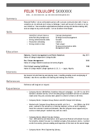 Free Sample Resume Templates  Advice and Career Tools   Resume Surgeon Bars and Bartending