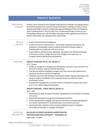 Professional Product Design Manager Resume Sample Download Product