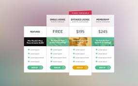 Pricing Table Templates 21 Elegant Free Pricing Tables Templates Utemplates