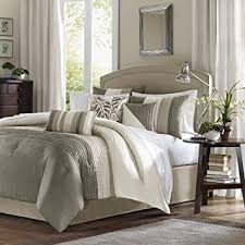 madison park bedding. Plain Bedding Madison Park 7 Piece Comforter Set Queen  Natural On Bedding S