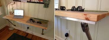 10 wall mounted desk designs for diy