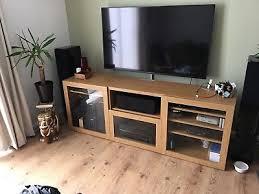 ikea besta tv bench with glass doors