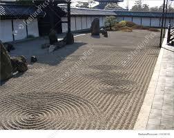 Zen Gardens Japanese Zen Garden Stock Image I1114110 At Featurepics