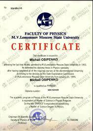 list of publications m ossipenko
