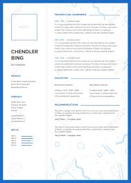 Minimalist Resume CV Template Minimalist Resume Web Page Job Application Skills 81