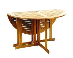 folding outdoor table round wood patio table lovely ideas folding outdoor furniture impressive design round wooden