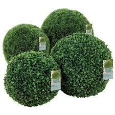 artificial shrubs outdoor uk. artificial topiary buxus ball - 40cm shrubs outdoor uk a