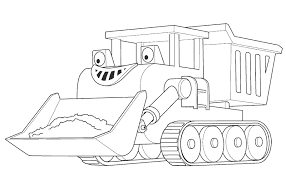Small Picture Bob The Builder Up Bulldozer Bob The Builder Coloring Pages