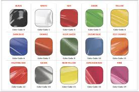 Peterbilt Paint Color Chart Q3 Polaris Custom
