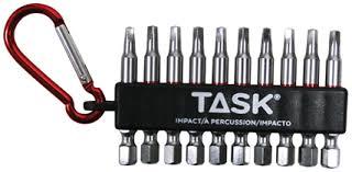 tool accessories. task impact driver bits \u0026 accessories tool