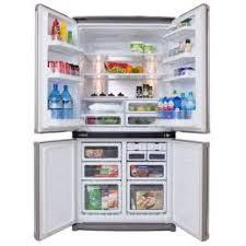 sharp french door fridge. sharp sjf676stsl 676-litre 4-door french-door refrigerator (stainless steel) sharp french door fridge r