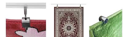 oriental rug hanging kit on moulding