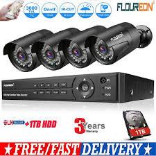 1TB HDD 5 IN1 8CH 1080P 1080N AHD DVR 4*3000TVL Home ...
