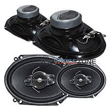 pioneer 6x8 speakers. 4) pioneer 6x8 speakers