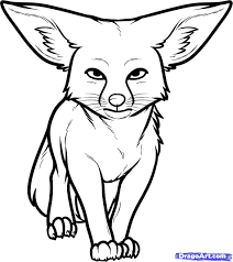 Small Picture Fox Coloring Pages Fox Coloring Pages Free Printable With Fox