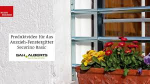 Fenstergitter Secorino Basic Von Gah Alberts Produktvideo Youtube