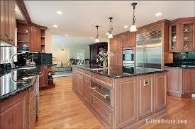 brown kitchen cabinets matching