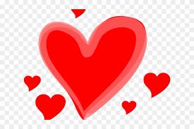 cartoon love heart cute black heart