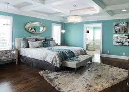 Cool Drizzle Blue Sherwin Williams Contemporary Master Bedroom Color