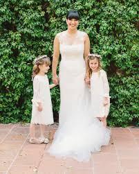 The Sweetest <b>Lace Flower Girl Dresses</b> | Martha Stewart Weddings
