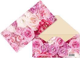 "Открытка-<b>конверт Дарите Счастье</b> ""Розы"", 165 х 80 мм"