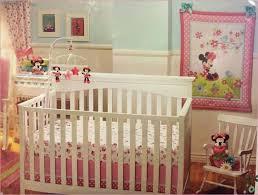 disney minnie mouse baby crib bedding nursery set 5 pieces fresh bedroom decor