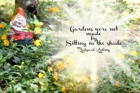 Quote Garden Classy Gardening Gnome Quote Garden Chick