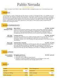 Restaurants Resume Examples Restaurant Resume Samples From Real Professionals Who Got