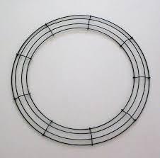 Wire Wreath frame 45cm. Wreath ring. Metal Wreath wire. 17