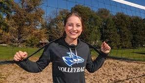 After stellar volleyball career at UNK, Lindsey Smith will take her game to  the beach