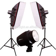 150w lamps daylight continuous lighting softbox soft box kit 50 x 70 cm studio photography
