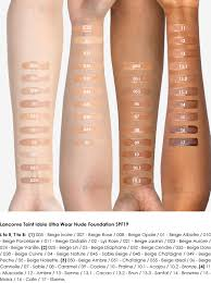 Lancome Teint Idole Ultra Wear Nude The Review Swatches