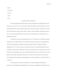 summary essay example summary skillswriting a good summary  freakonomics summary essay examples summary essay example
