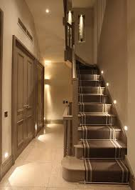lighting ideas. Lighting Every Other Stair Tread For Beautiful Staircase Ideas N