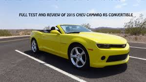 chevy camaro 2015 convertible. Brilliant 2015 What You NEED To Know About The 2015 Chevrolet Camaro RS Convertible   YouTube For Chevy O
